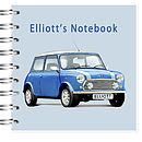 Mini Cooper Car Notebook