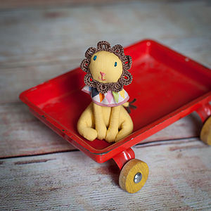Circus Lion Soft Toy