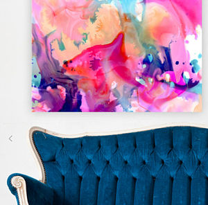 Nebula Canvas Art - paintings & canvases