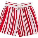 Boys Deckchair Stripe Swimshorts