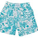 Boys Coral Swimshorts