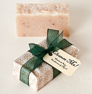 Frankincense And Myrrh Handmade Soap - gifts for her