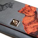 'Vixen' Design Clutch Bag