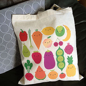 Five A Day Tote Bag - womens