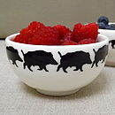 Handmade Small Wild Boar Bowl