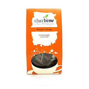 Chocolate Orange Tea 15 Biodegradable Tea Bags - teas, coffees & infusions