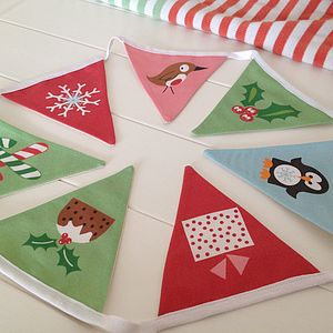 Christmas Bunting For Kids - garlands & bunting