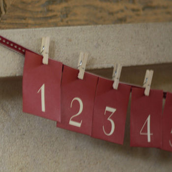 Advent Calendar Envelopes