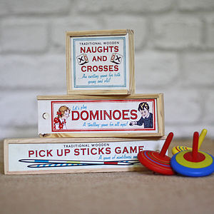 Traditional Children's Games Stocking Fillers