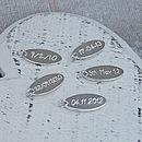 Handmade Personalised Silver Name Slinky Bracelet