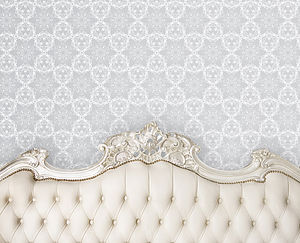 Hand Screen Printed Detail Wallpaper - wallpaper