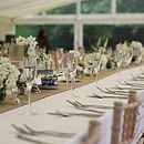 Hessian Burlap Table Runner 5m