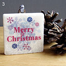 3. Merry Christmas decoration