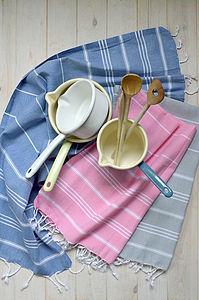 Tea Towel   Cotton Hamam Towel - kitchen accessories