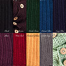 Knitted Button Detail Snood