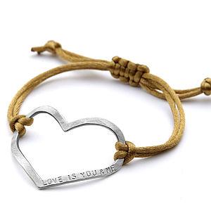 Mega Love Friendship Bracelet - personalised