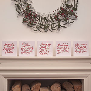 Christmisquotes Christmas Card Pack - christmas cards