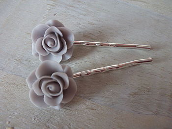 Rosie Rose Hair Slides