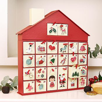 Cottage Christmas Advent House