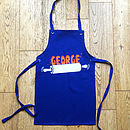 Personalised Child's Apron