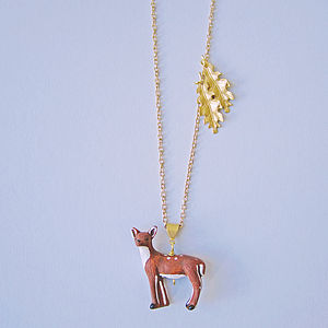 Be A Dear Deer Necklace