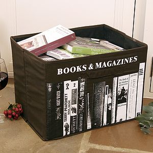Books And Magazine Storage Sack - shelves & racks