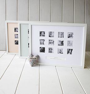 Personalised First Year Large Frame - picture frames
