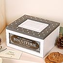 Biscuit Patisserie Box