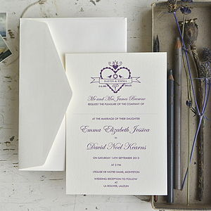 Hearty Wedding Stationery