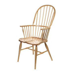 Maple And Ash Windsor Chair - furniture