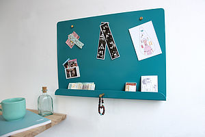 Myosotis Magnetic Noticeboard - kitchen