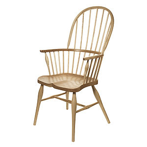 Cherry And Ash Windsor Chair - furniture