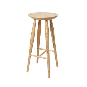 Maple Bar Stool - living room
