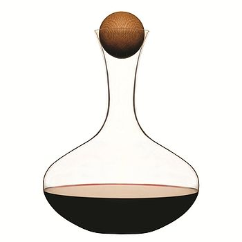 Carafe With Oak Stopper