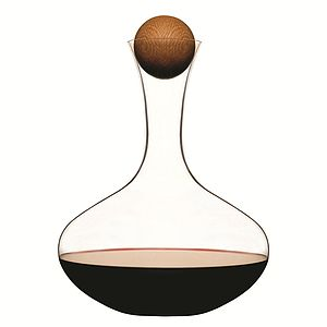 Carafe With Oak Stopper - gifts for him