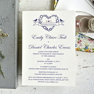 Jessica Wedding Stationery