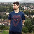 Organic Men's 'Frankie The Fox' T Shirt
