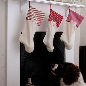 Dog Christmas Stocking - dogs