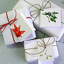 Samples of Christmas Wrapping