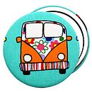 Campervan Pocket Mirror Lots Of Colours