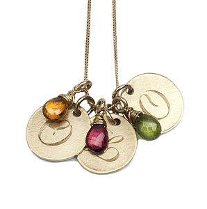 Gold 9ct Personalised Pendant - necklaces & pendants
