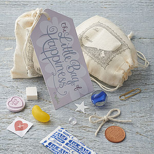 Little Bag Of Happiness - gifts for her