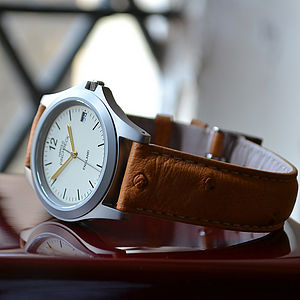 William Parchment Watch - watches