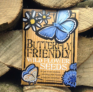 Butterfly Friendly Wild Flower Seeds - wedding favours