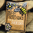 Bee Friendly Wild Flower Seeds