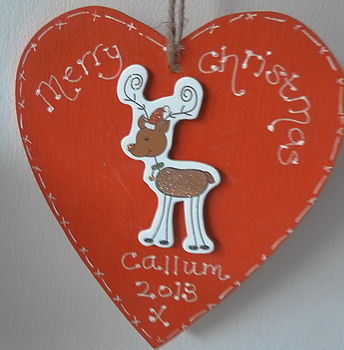 Personalised Sparkly Christmas Decoration