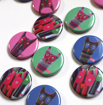 Large Owl Magnets