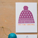 'Bobble Hat' Card