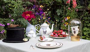 Skull In Crown Jubilee Teapot - teapots