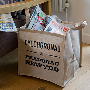 Welsh Magazine/Newspaper Bag